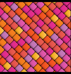 abstract geometric background squares vector image