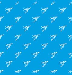 Ball python pattern seamless blue vector