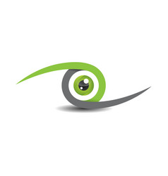 eyes abstract design vector image