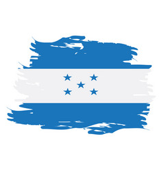 isolated honduras flag vector image