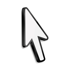 Mouse arrow cursor vector image