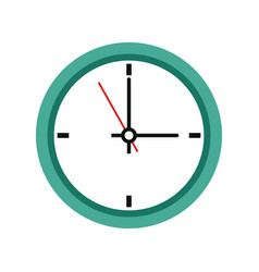 office clock time business symbol clock icon vector image