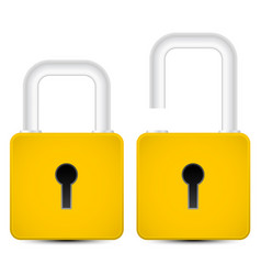 Padlock graphics vector