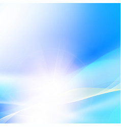 shining blue background vector image vector image