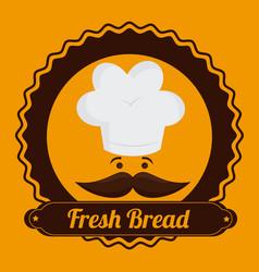 bakery design icom ilstration vector image