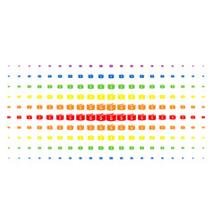 banknotes spectrum halftone pattern vector image