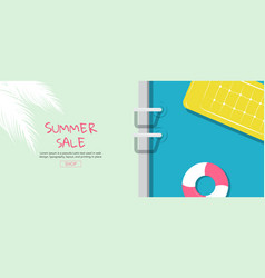 bright sweet fashion style hot summer vibes pop vector image