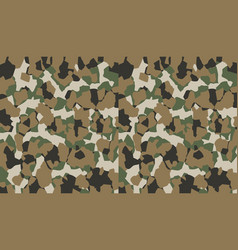 camouflage pattern background military style vector image