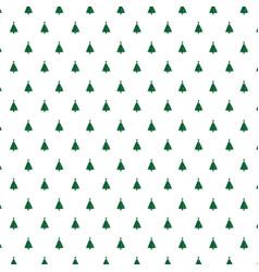 christmas pattern background design vector image