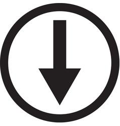 Download arrow icon down arrow icon arrow icon vector