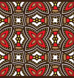 Hand drawn african seamless pattern ethnic vector