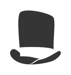 Hat clothing fashion design vector