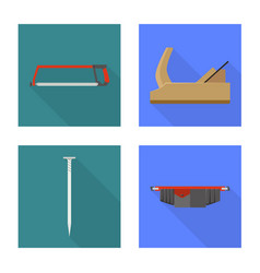 Isolated object tool and household logo vector