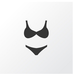 swimsuits icon symbol premium quality isolated vector image