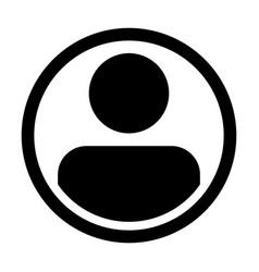 user icon male person symbol profile avatar vector image