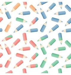 set seamless pencil vector image
