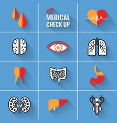 Medical Check Up Man vector image