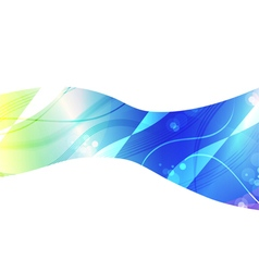 Abstract blue light background for design vector