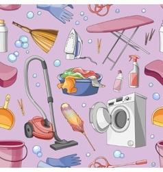 Doodle pattern set of cleanup vector image