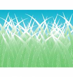 grass blades vector image vector image