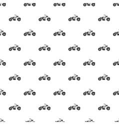 Motobike pattern simple style vector image