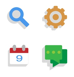 Preferences vector image