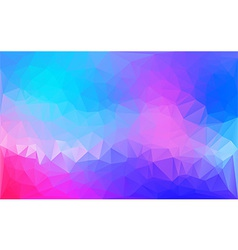 abstractgeometricBluePink vector image