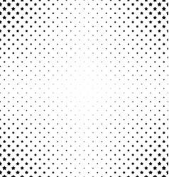 Black and white pentagram star pattern vector image