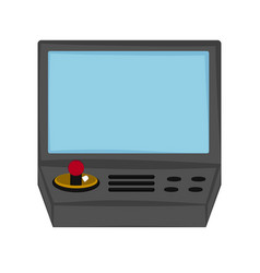 Isolated arcade icon vector