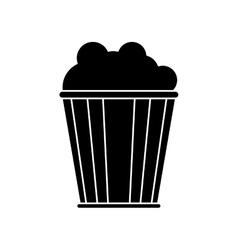 Isolated cinema pop corn design vector