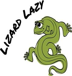 Lizard Lazy vector