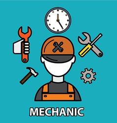 Mechanic vector
