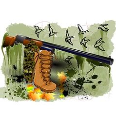 Abstract hunting vector