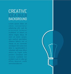 Creative background template vector