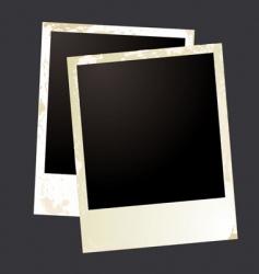 photo grunge overlap vector image