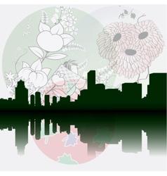 Tokyo City Skyline vector image