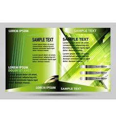 Catalog template design vector