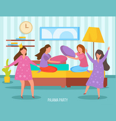 Girls friendship orthogonal composition vector