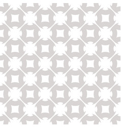 gray and white geometric abstract ornament vector image