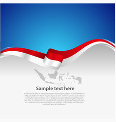 Indonesian indepenence day vector