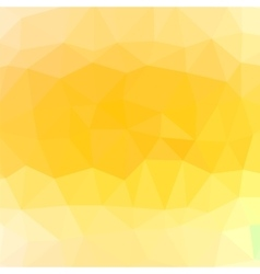 Mosaic Yellow Background vector