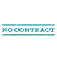 No Contract Watermark Stamp vector