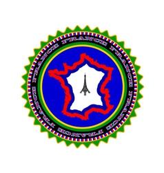 symbol of France vector image