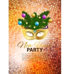 Abstract Beauty Merry Christmas and New Year Party vector