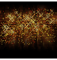 Abstract christmas glitter background vector image