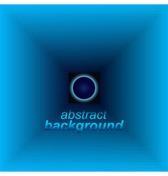 Abstract space tunnel vector