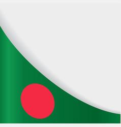 Bangladeshi flag background vector