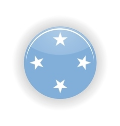 Federated states micronesia icon circle vector