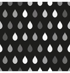 Gray Rain Dark Background vector image