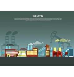 Industry concept vector
